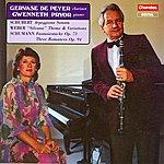 "Gervase de Peyer Schubert: Arpeggione Sonata - Weber: ""Silvana"" Theme & Variations - Schumann: Fantasiestucke, Op.73/Three Romances, Op.94"