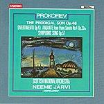 Neeme Järvi Prokofiev: The Prodigal Son, Op.46/Divertimento, Op.43/Andante From Piano Sonata No.4, Op.29bis/Symphonic Song, Op.57