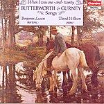 Benjamin Luxon Butterworth & Gurney Songs: When I Was One and Twenty