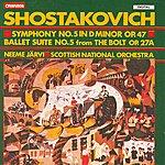 Neeme Järvi Shostakovich: Symphony No.5 in D Minor, Op.47/Ballet Suite No.5 From The Bolt, Op.27a