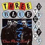 Three Blue Teardrops One Part Fist