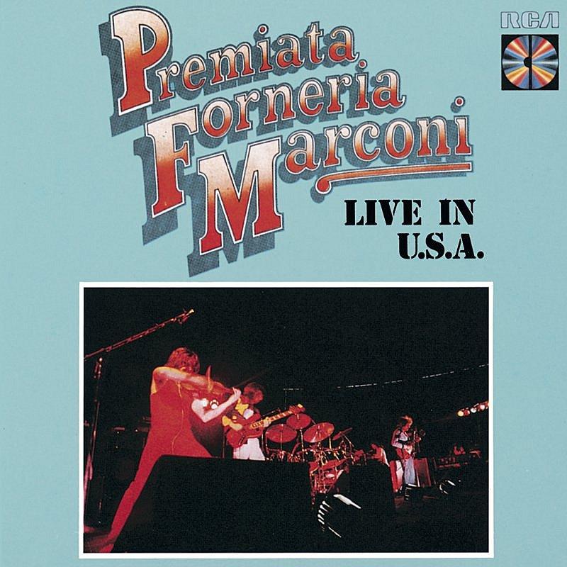 Cover Art: P.F.M. - Live In U.S.A.