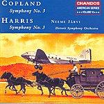 Neeme Järvi American Series, Vol.10: Harris - Symphony No.3/Copland - Symphony No.3
