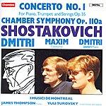 Dmitri Shostakovich Shostakovich: Concerto No.1/Chamber Symphony, Op.110a