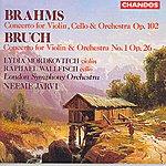 Neeme Järvi Brahms: Concerto For Violin, Cello & Orchestra, Op.102 - Bruch: Concerto For Violin & Orchestra, No.1, Op.26