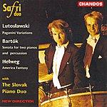 Safri Duo Lutoslawski: Paganini Variations/Béla Bartók: Sonata For Two Pianos And Percussion/Helweg: America Fantasy
