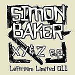 Simon Baker X, Y & Z (3-Track Maxi-Single)