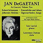 Jan DeGaetani Jan DeGaetani In Concert, Vol.2