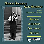 Henryk Szeryng Henryk Szeryng & Gary Graffman At The Library Of Congress