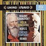 Jascha Heifetz Brahms/Tchaikovsky: Violin Concertos