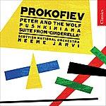 Neeme Järvi Prokofiev: Peter And The Wolf/Pushkiniana/Suite From 'Cinderella'