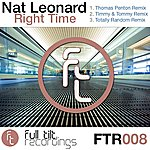 Nat Leonard Right Time