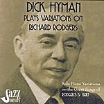 Dick Hyman Dick Hyman Plays Variations On Richard Rodgers: Rodgers & Hart
