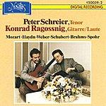 Peter Schreier Mozart, Haydn, Weber, Schubert, Brahms & Spohr: Klassische und romantische Lieder zur Gitarre