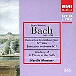 Neville Marriner Brandenburg Concertos Nos.5 & 6/Orchestral Suite No.1