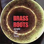 Brass Roots Purple Cha Cha Heels