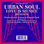 Urban Soul Orchestra Love Is So Nice