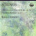 Walter Gieseking Schumann: Concerto pour piano en la min. Op. 54 / Davidsbündlertänze