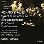 Royal Liverpool Philharmonic Orchestra Strauss: Symphonia Domestica / Eine Alpensinfonie / Oboe Concerto / Duett-Concertino