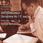 Royal Liverpool Philharmonic Orchestra Shostakovich: Symphony No. 13 'Babi Yar'