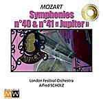"Alfred Scholz Symphonies n°40 and n°41 ""Jupiter"""