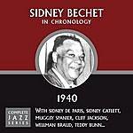 Sidney Bechet Complete Jazz Series 1940