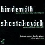 Gilbert Kalish Hindemith: Quartet for Clarinet, Violin, Cello and Piano & Shostakovich: Piano Quintet in G Minor, Op. 57