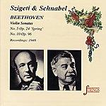 Artur Schnabel Beethoven: Sonatas No.5 & 10