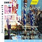"""Fine Arts Quartet Hugo Wolf: String Quartet D Minor, """"Italian Serenade"""" G Major"""