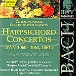 Helmuth Rilling Johann Sebastian Bach: Harpsichord Concertos, BWV 1060-1062, 1061a