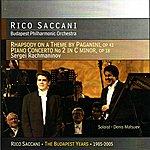 Budapest Philharmonic Orchestra Rachmaninov: Rhapsody on a Theme by Paganini & Concerto No. 2