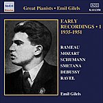 Emil Gilels Emil Gilels: Early Recordings (1935-1951)