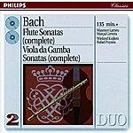 Maxence Larrieu Bach, J.S.: The Flute Sonatas/The Viola Da Gamba Sonatas