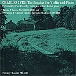 Paul Zukofsky Charles Ives: The Sonatas For Violin And Piano, Vol. 2