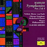 Wiener Philharmoniker Mahler: Symphonies Nos.2 & 4