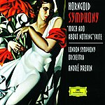 André Previn Korngold: Symphony in F sharp; Much Ado About Nothing