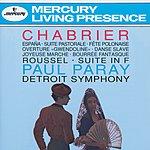 """Detroit Symphony Orchestra Chabrier: España/Suite Pastorale/Fete Polonaise/Overture """"Gwendoline""""/Danse Slave/Roussel: Suite in F"""