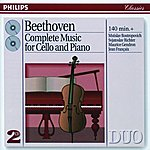 Mstislav Rostropovich Beethoven: Complete Music For Cello And Piano