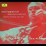 Mstislav Rostropovich Rostropovich - Mastercellist. Legendary Recordings 1956-1978