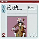 Maurice Gendron Bach, J.S.: The 6 Cello Suites