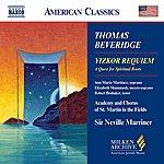 Neville Marriner BEVERIDGE: Yizkor Requiem