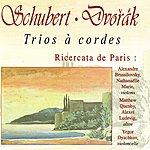 "Alexandre Brussilovsky Schubert: Trio à Cordes D. 471 & D. 581 - Dvořák: Terzetto, Trio ""Drobnosti"""