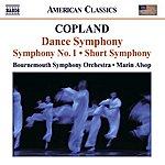 Bournemouth Symphony Orchestra Copland: Dance Symphony/Symphony No.1/Short Symphony