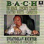 Sviatoslav Richter Bach : Sonata, Capicio, Duetti(Un homme de concert 3)