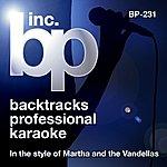 Martha Reeves & The Vandellas Karaoke - In The Style Of Martha & The Vandellas