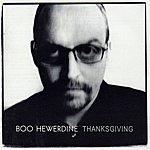 Boo Hewerdine Thanksgiving