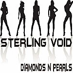 Sterling Void Diamonds N Pearls
