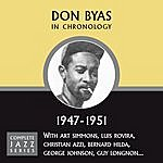 Don Byas Complete Jazz Series 1947 - 1951