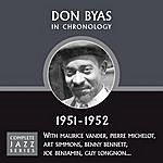 Don Byas Complete Jazz Series 1951 - 1952