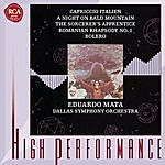 Eduardo Mata Capriccio Italien/Bolero/A Night On Bald Mountain/The Sorcerer's Apprentice/Romanian Rhapsody No. 1